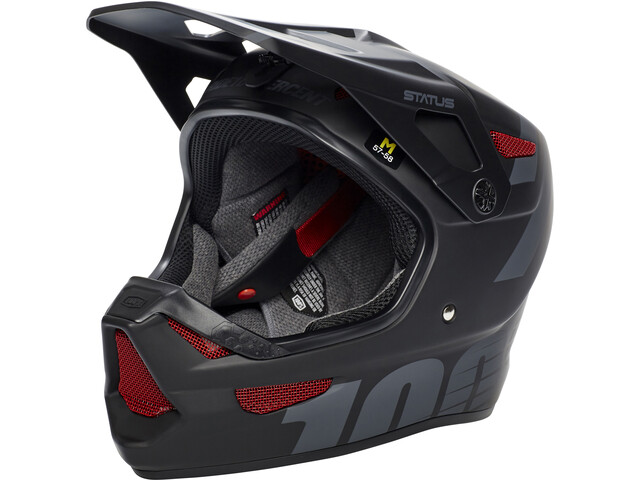 100% Status DH/BMX Helmet black meteor